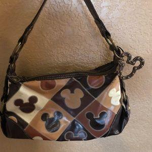 Mickey Mouse handbag.